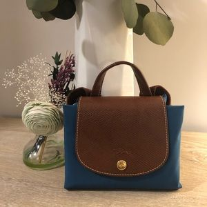 Longchamp Backpack in a Beautiful Blue Shade